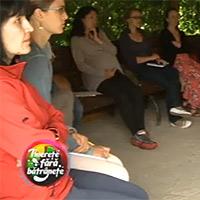 Emisiune la Digi TV despre tabără