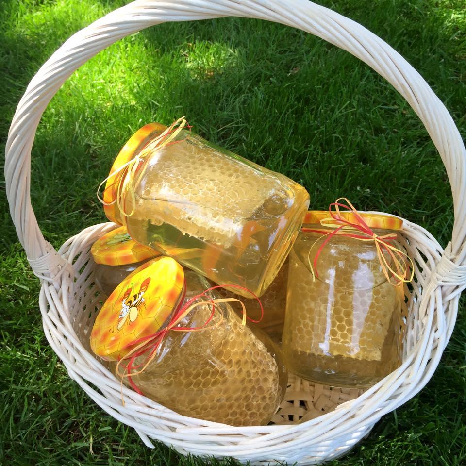 Miere raw (și produse apicole bio)