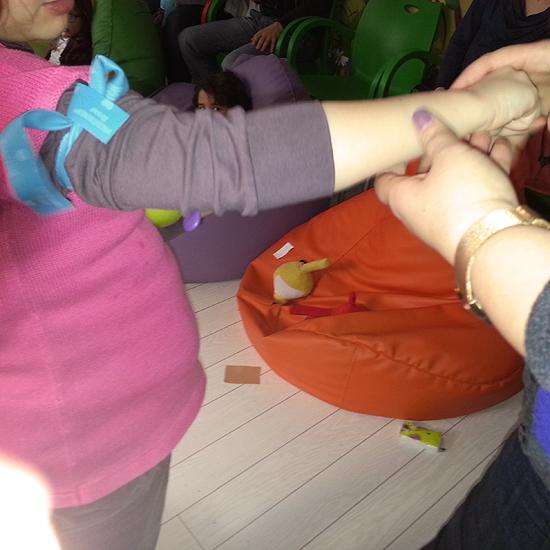 Primul curs de prim-ajutor pentru copii (februarie 2015)
