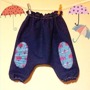 Șalvari pentru copii și textile pentru casă