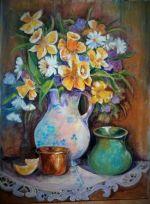 Flori în odaie