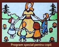 Program special pentru copii