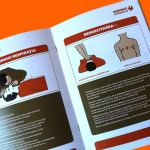 Noțiuni de prim-ajutor într-un ghid pentru urgențe, ilustrat