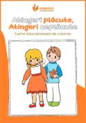 Carte de colorat educațională: Atingeri permise, atingeri nepermise