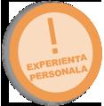 experienta personala