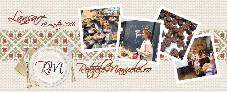 Lansare retetele-manuelei.ro - eveniment organizat de Mamici la Superlativ