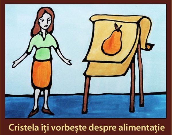 Cristela Georgescu vorbeste despre alimentatie sanatoasa