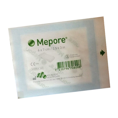 Comprese sterile adezive (5 buc)