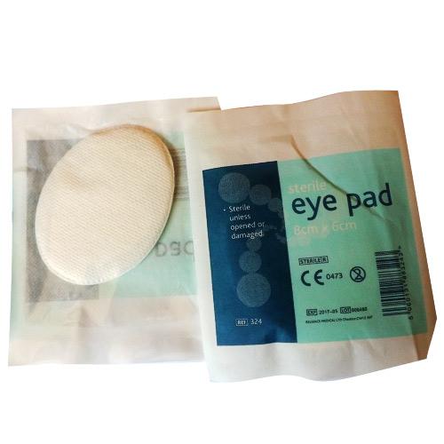 Comprese sterile pentru ochi